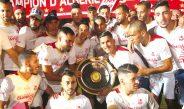 Ligue 1: le CRB reçoit le bouclier de champion d'Algérie 2019-2020