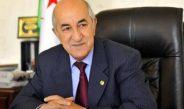 Covid-19 : le Président Tebboune en confinement volontaire préventif